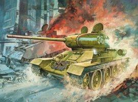 Танки и самоходные установки из World of Tanks, принимавшие участие в битве за Берлин
