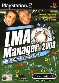 LMA Manager 2003 – фото обложки игры