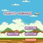 Скриншот Adventure of Flappy Unicorn Flyer – Изображение 2