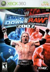 WWE SmackDown! vs. Raw 2007 – фото обложки игры