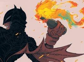 Суровый Дарксайд иновая Бэтвумен наобложках к«Возвращению Темного рыцаря» Фрэнка Миллера