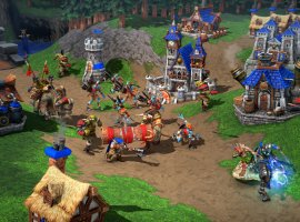 Модели строений разных фракций и Кел'Тузад на трицикле — новые утечки Warcraft III: Reforged