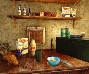 Как насчет бургера из брамина? Goblin готовит ядерные блюда из Fallout