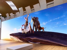 Sony Crystal LED: огромный 16К-экран площадью 100кв. м