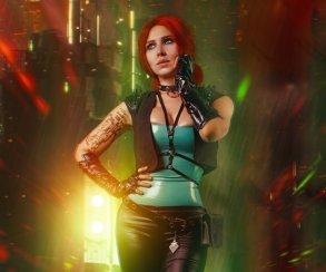 Как чародейки из«Ведьмака» выгляделибы вCyberpunk 2077