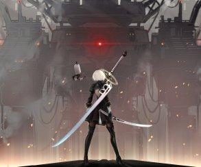 Энтузиаст добавил в Dark Souls 2B из NieR: Automata