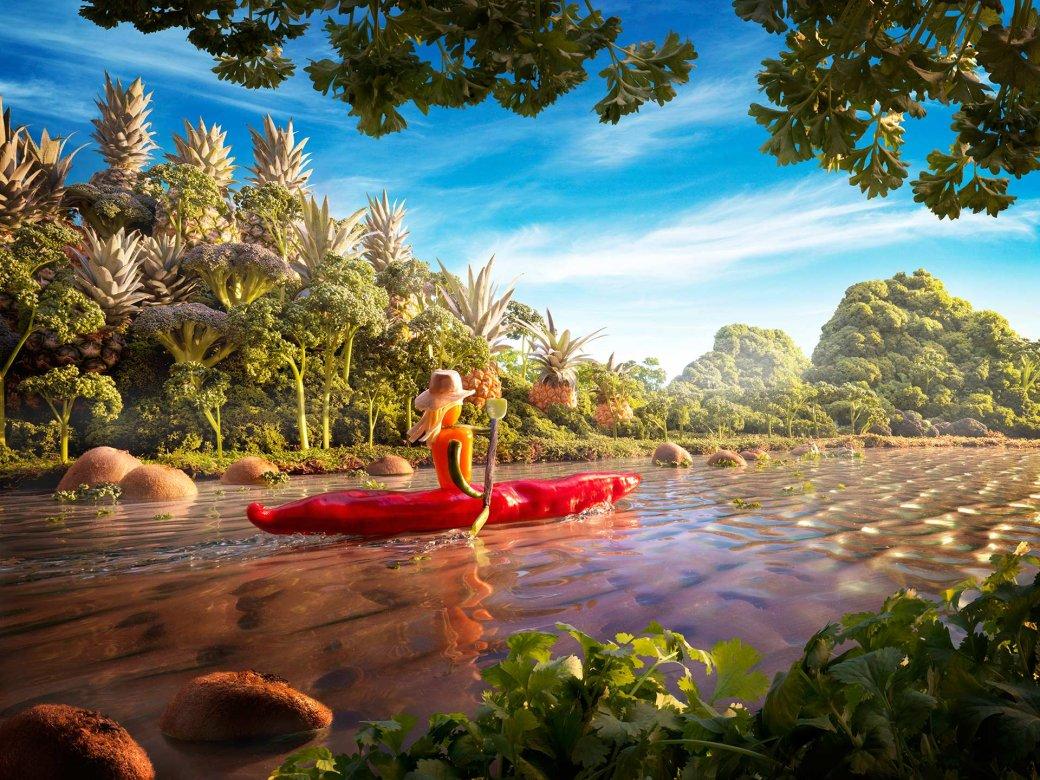 Фотограф создает сказочные пейзажи, используя только еду   Канобу - Изображение 13818