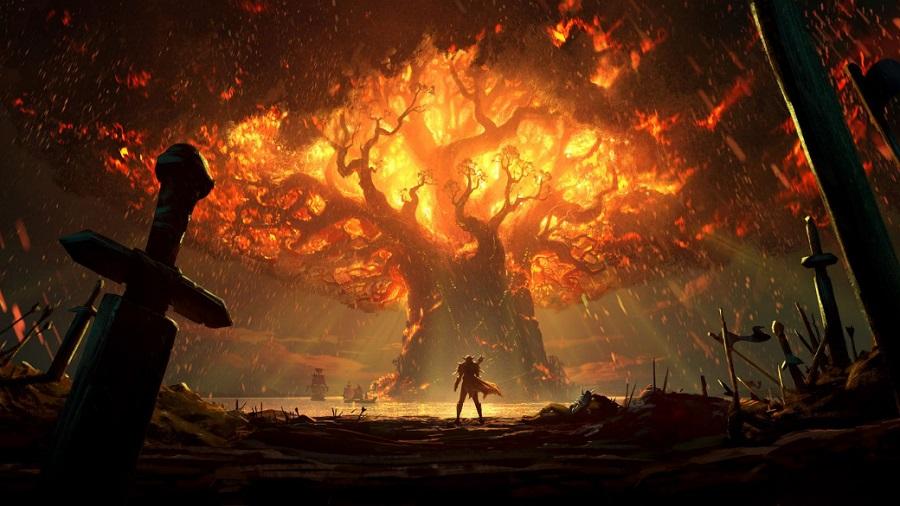 Вышла новая короткометражка по WoW. Игроки в ярости, потому что Сильвана сожгла Тельдрассил!. - Изображение 1