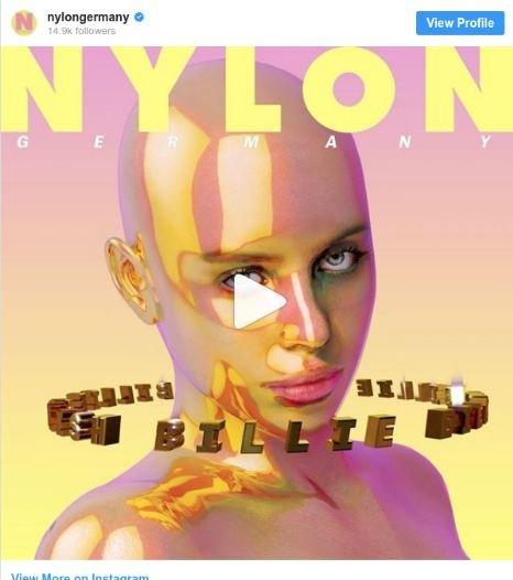 Билли Айлиш возмутило еененастоящее голое фото отжурнала Nylon | Канобу - Изображение 1