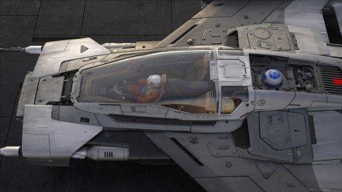 Porsche представил свой космический корабль для «Звездных войн»