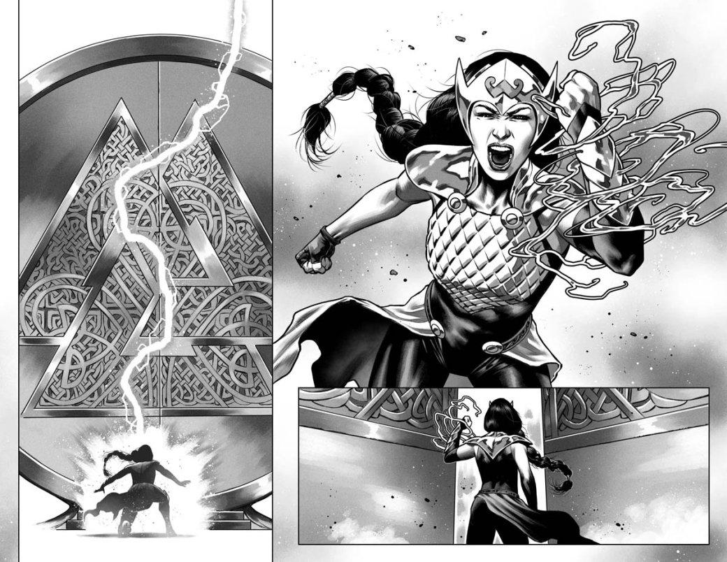 Джейн Фостер была Тором, теперьже она станет Валькирией— прямиком состраниц The War ofthe Realms | Канобу - Изображение 10