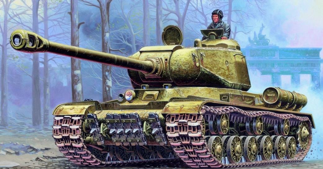 Танки и самоходные установки из World of Tanks, принимавшие участие в битве за Берлин | Канобу