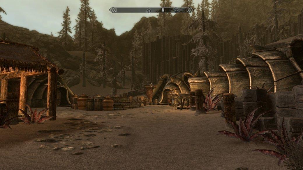 Как TES 5: Skyrim выглядит иработает наNintendo Switch? Отвечаем скриншотами игифками | Канобу - Изображение 15