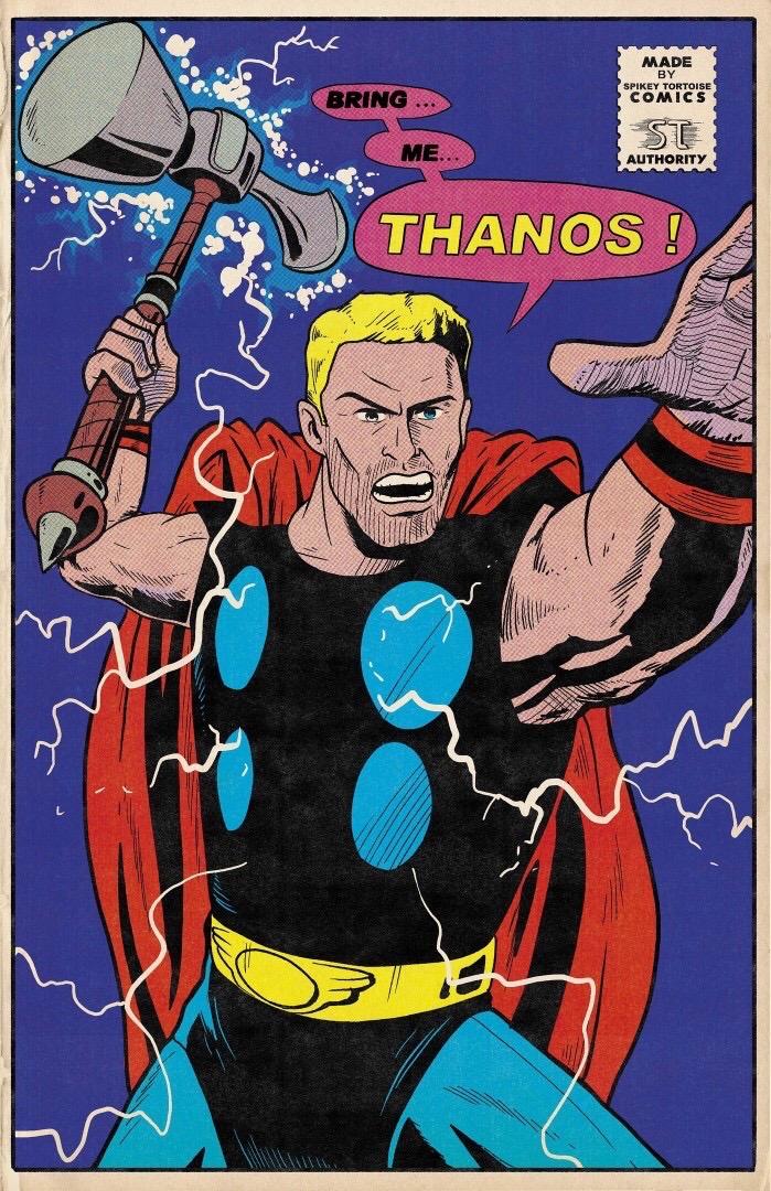 Фанат Marvel рисует знаменитые сцены из фильмов в стилистике классических комиксов  | Канобу - Изображение 4