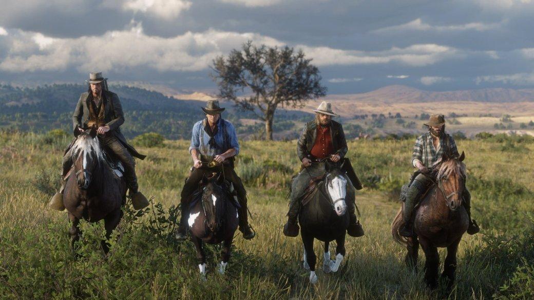 Гифка дня: почему лучше непытаться угнать лошадь вRed Dead Redemption2 | Канобу - Изображение 1