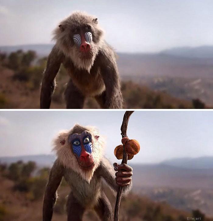 Художник перерисовал персонажей ремейка «Короля льва» в стиле оригинального мультфильма | Канобу - Изображение 8138