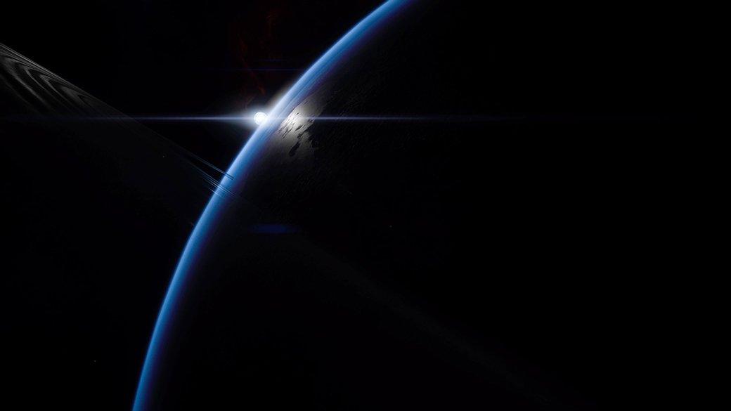 Потрясающий космос Mass Effect: Andromeda   Канобу - Изображение 9892
