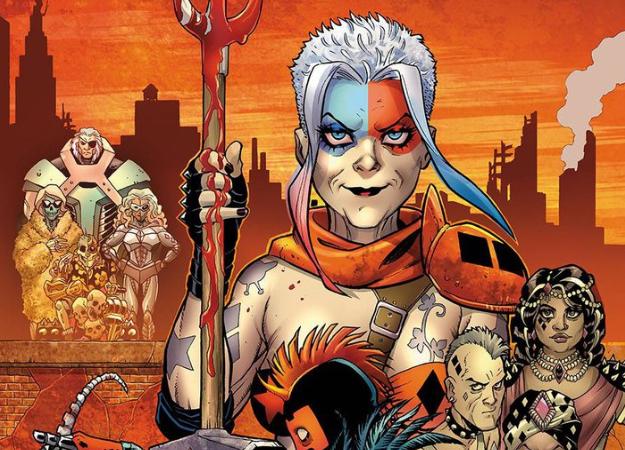Старушка Харли Квинн получила свою постапокалиптическую серию комиксов   Канобу - Изображение 2636