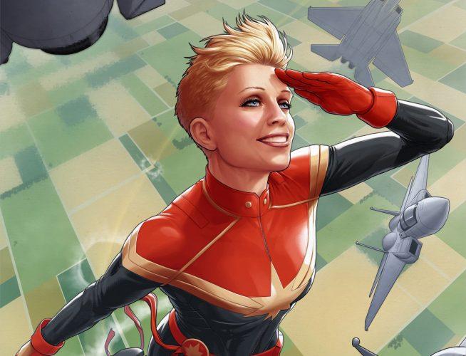 Могущественная Кэрол Дэнверс вновом трейлере фильма «Капитан Марвел»[обновлено] | Канобу - Изображение 5674