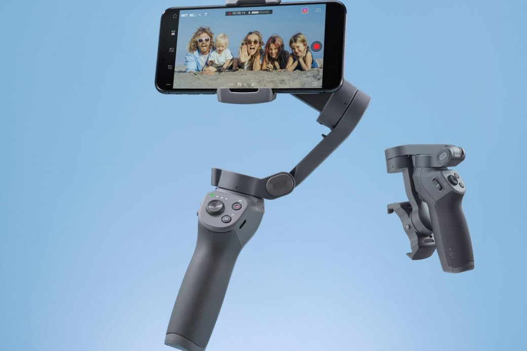 Представлен ручной стабилизатор DJI Osmo Mobile 3: зарядка других гаджетов и 15 часов работы   SE7EN.ws - Изображение 1