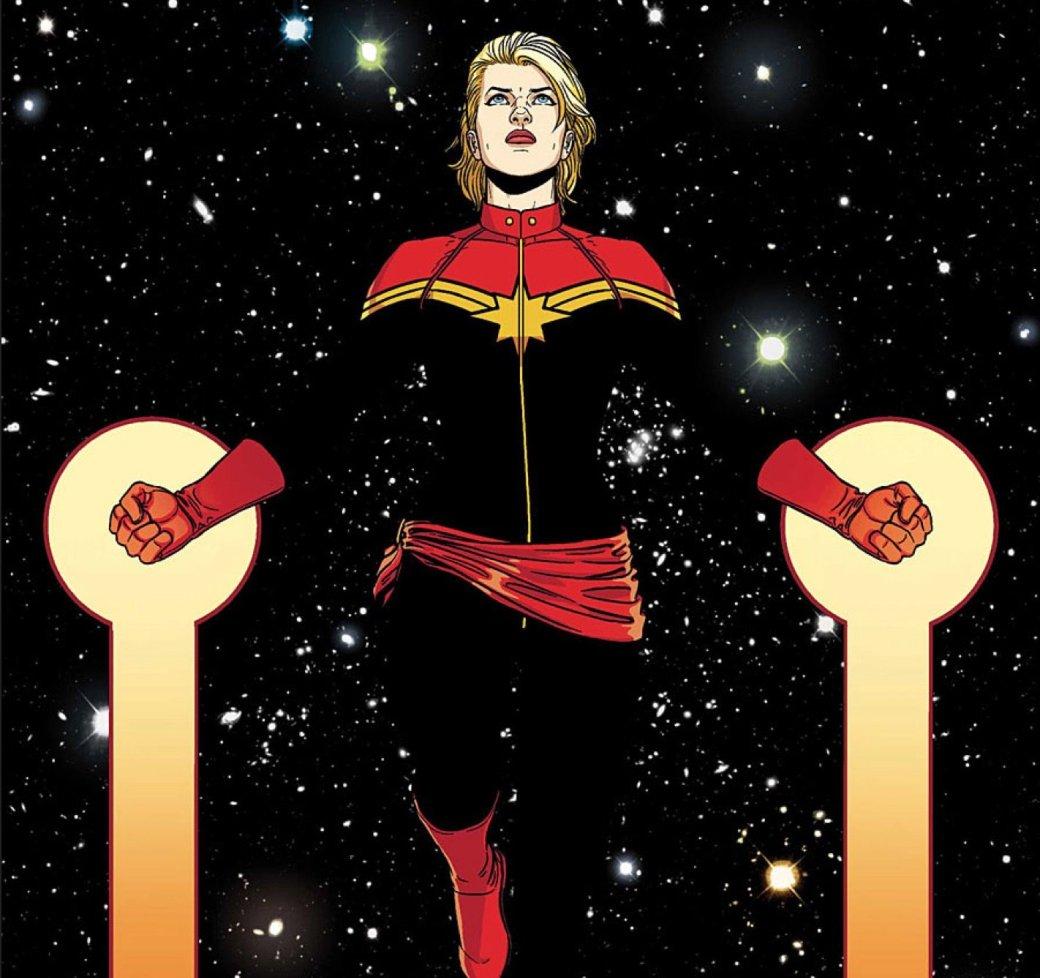 Капитан Марвел будет самым могущественным персонажем вселенной Marvel | Канобу - Изображение 2109