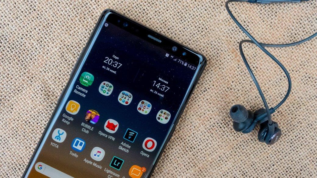 Обзор Samsung Galaxy Note8: потрясающий, нонедля всех. - Изображение 1