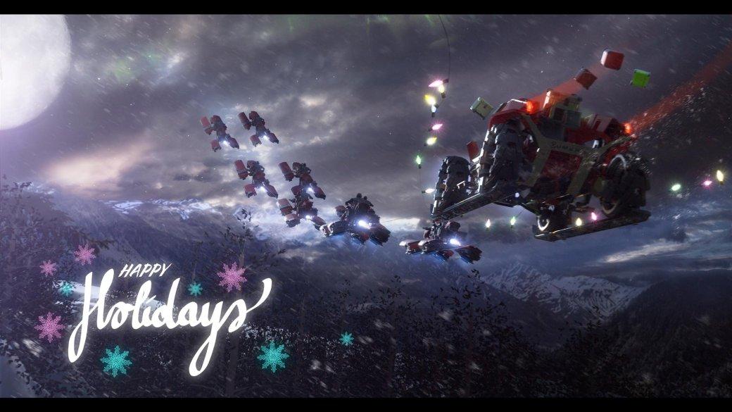 Разработчики поздравляют игроков с Рождеством. Подборка праздничных открыток   Канобу - Изображение 12507