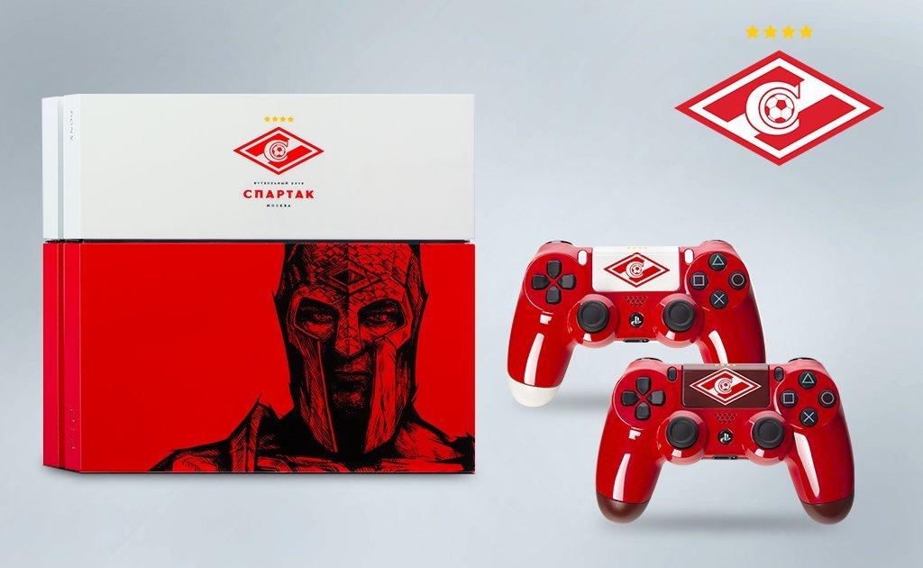 Брендированные PlayStation 4 для фанатов российских футбольных клубов | Канобу - Изображение 8155