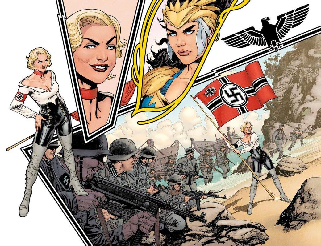 Вновом комиксе оЧудо-женщине амазонки сражаются против нацистов   Канобу - Изображение 1