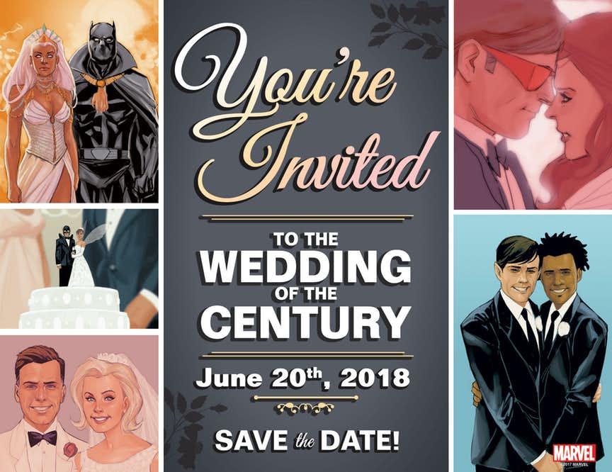 10 самых ярких изначимых свадеб вкомиксах Marvel | Канобу