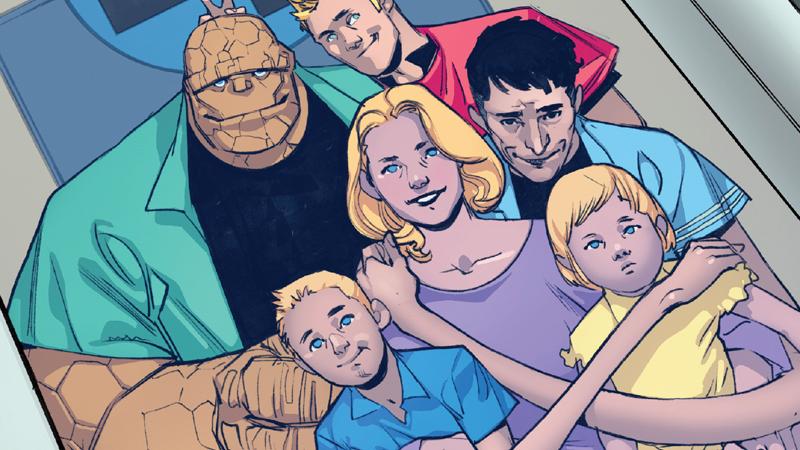 Возвращение Фантастической четверки тизерит новую свадьбу века настраницах комиксов Marvel. - Изображение 1
