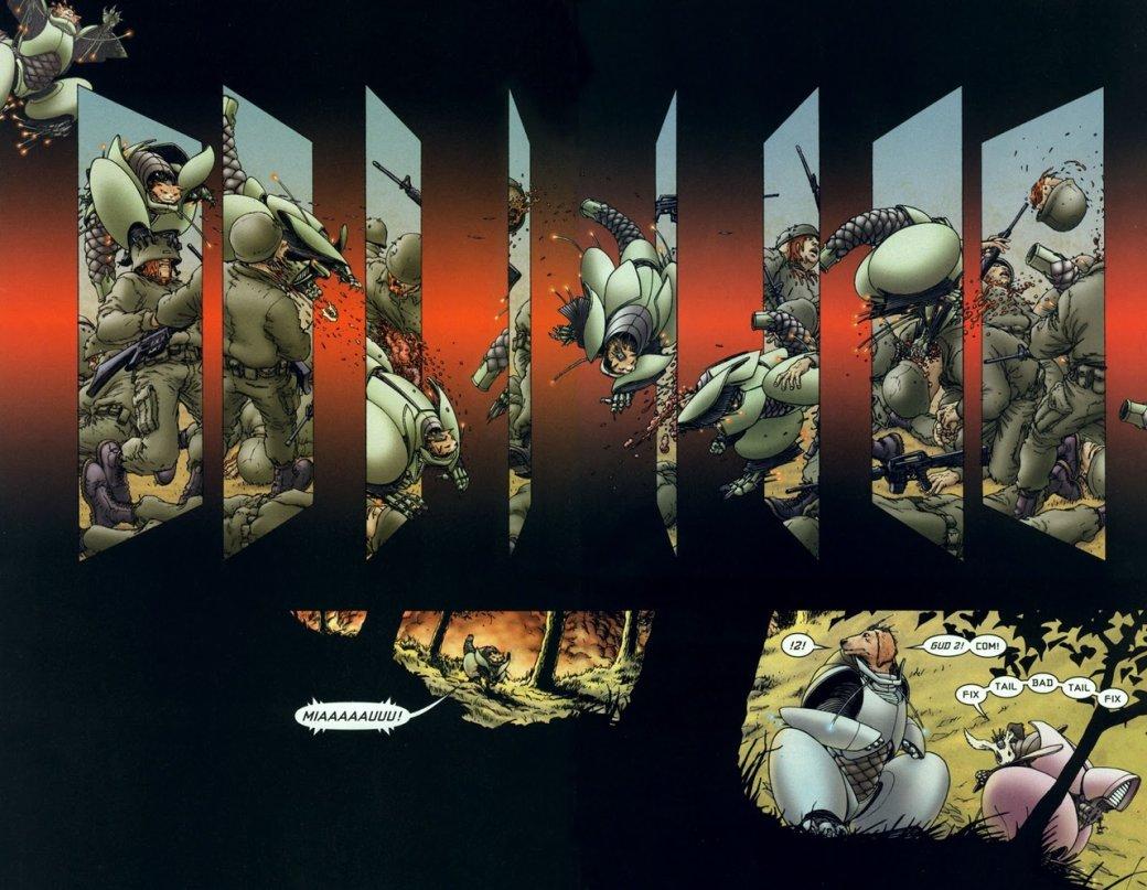 «Классика Vertigo»: We3— мрачная история оживотных-киборгах, превращенных всовершенных убийц | Канобу - Изображение 804