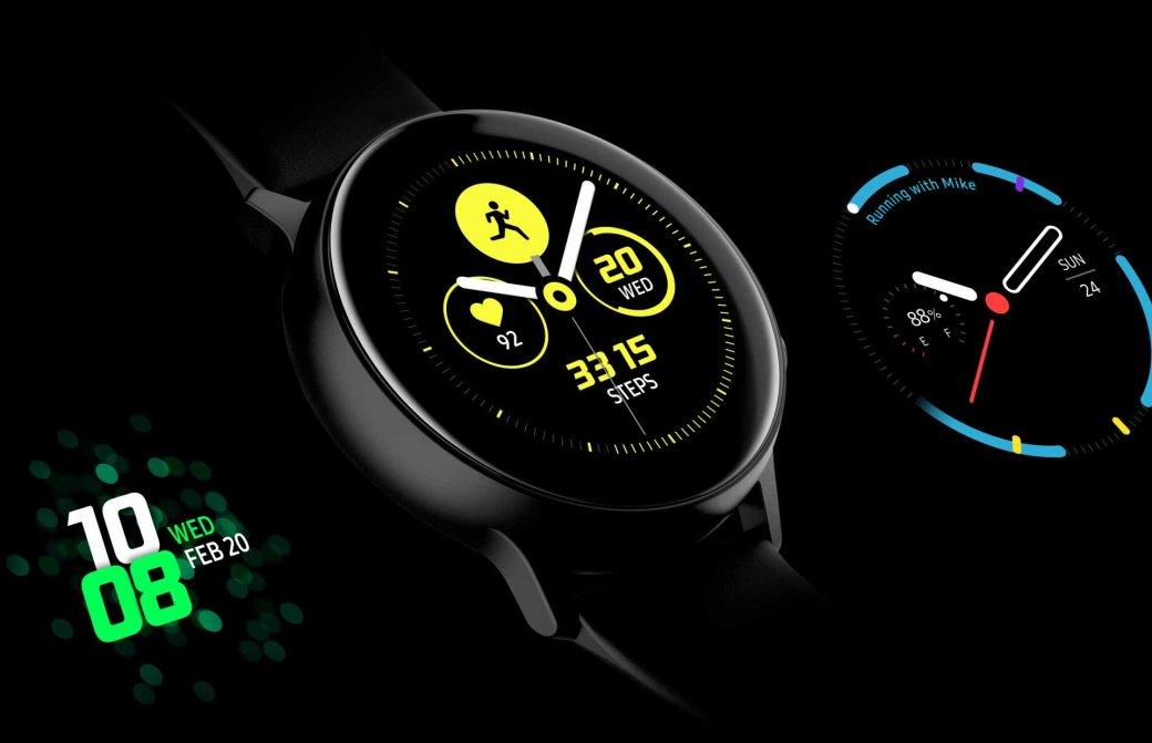 Анонс Samsung Galaxy Watch Active: обновленный дизайн, защита отводы ипосредственная начинка | Канобу - Изображение 11477