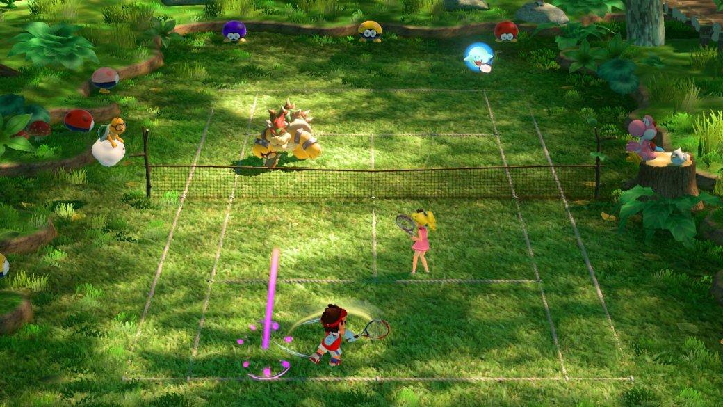 Рецензия на Mario Tennis Aces — отличный аркадный теннис, провальная видеоигра | Канобу - Изображение 3