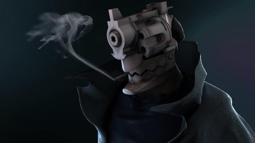 Вновом трейлере аниме NoGuns Life углавного героя вместо головы— револьвер. Разве это некруто?! | Канобу - Изображение 4811