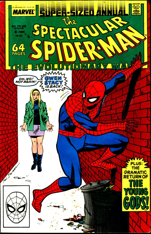 Возлюбленная Человека-паука, укоторой было много клонов. Эволюция Гвен Стейси вкомиксах   Канобу - Изображение 0