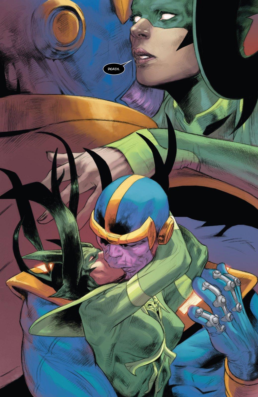 Безумный титан Танос нашел новую любовь   Канобу - Изображение 4580