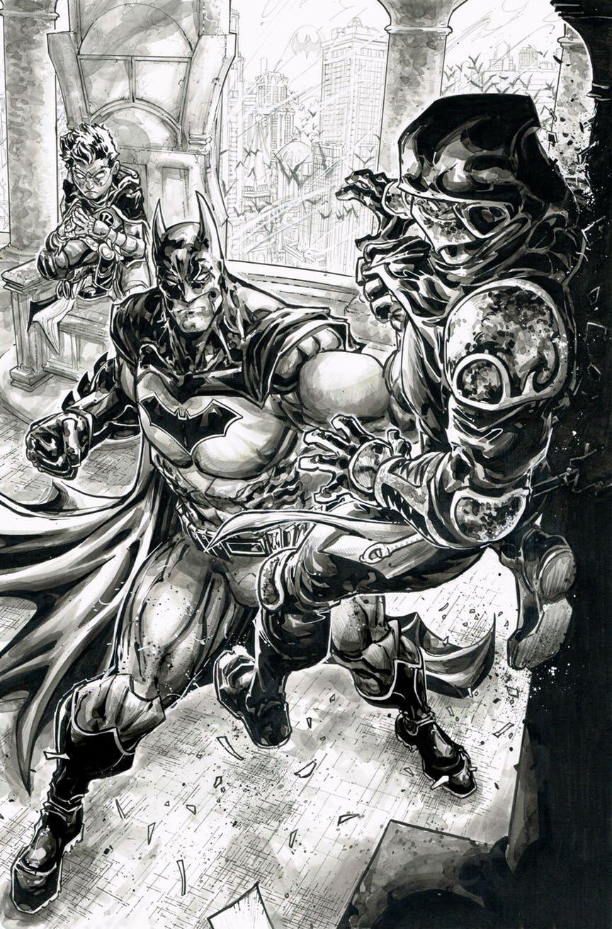 Черепашки-ниндзя снова встретят Бэтмена. Наэтот раз будут ловить Бэйна | Канобу - Изображение 4