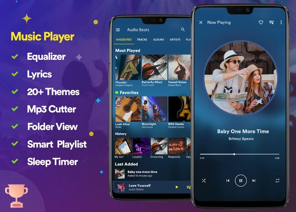 Аудиоплееры для Android - лучшие музыкальные плееры, бесплатные приложения для прослушивания музыки | Канобу - Изображение 6