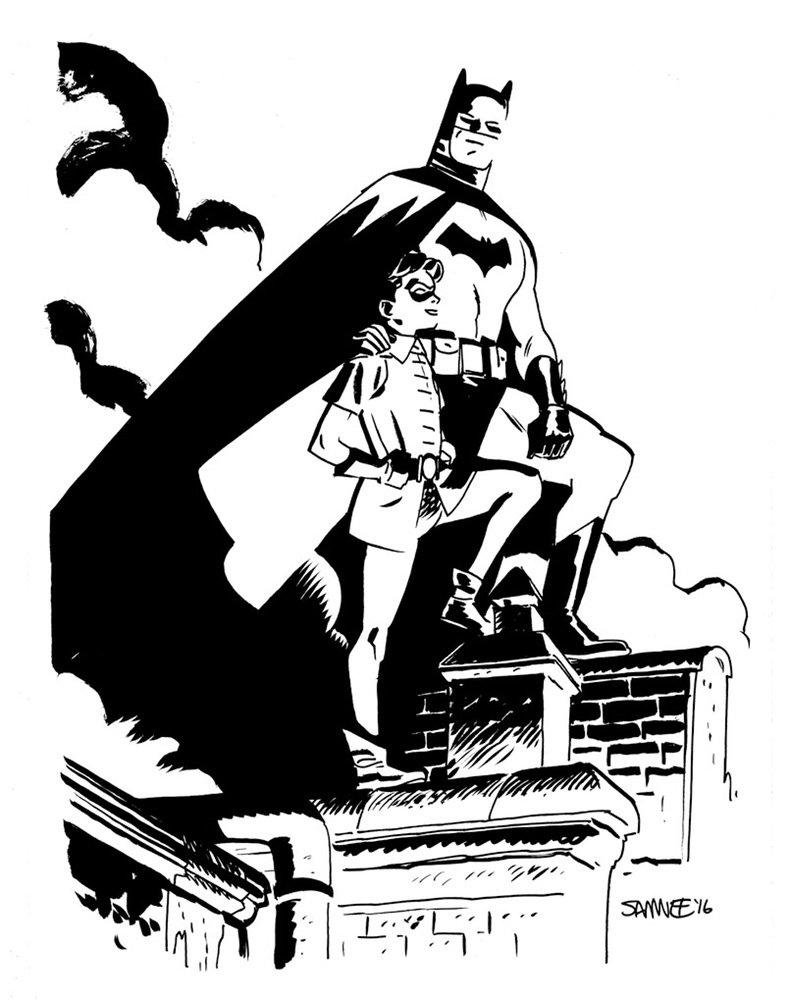 Супергерои Marvel и DC в рисунке Криса Сомни | Канобу - Изображение 8812
