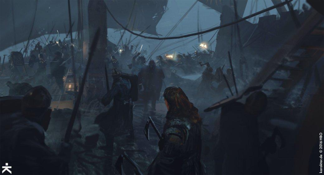 Взгляните напотрясающие концепт-арты 7 сезона «Игры престолов». - Изображение 18