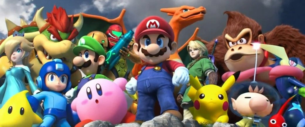 Е3 2018: показали новую Super Smash Bros. Ultimate! Теперь с Солидом Снейком!. - Изображение 1