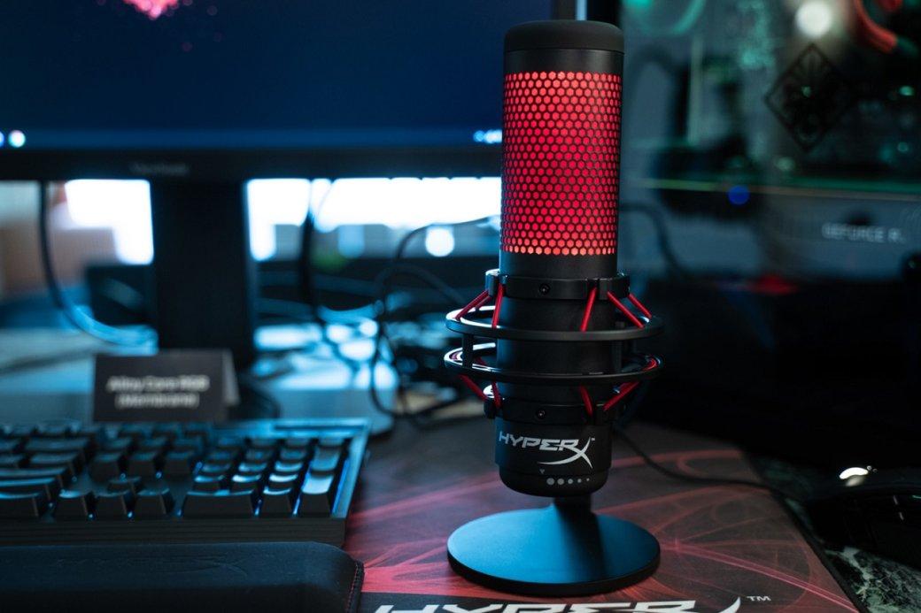 Kingston выпустила первый игровой микрофон под брендом HyperX. Новинку назвали Quadcast | Канобу - Изображение 1