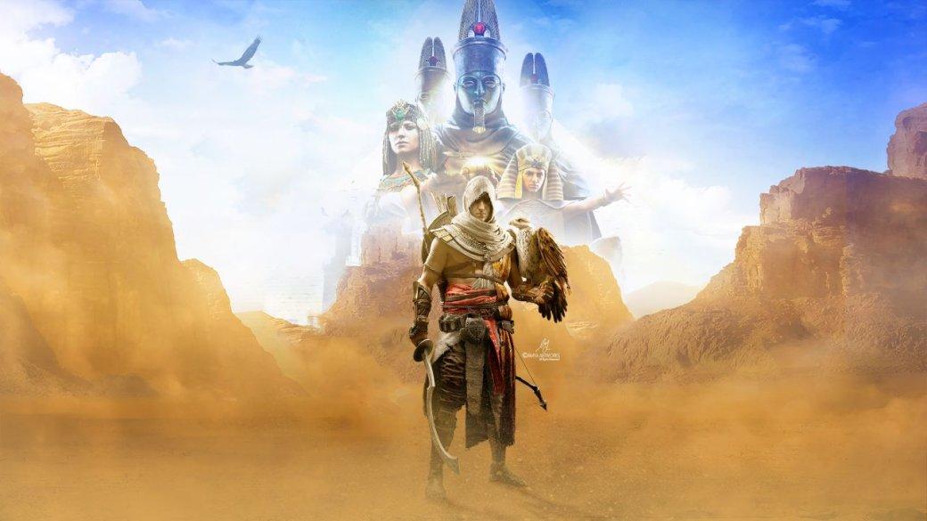 Гифка дня: продвинутые технологии Египта вAssassin's Creed: Origins | Канобу - Изображение 1