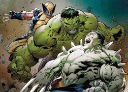 Логан иБрюс Баннер встретятся сгибридом Росомахи иХалка. Кто победит?