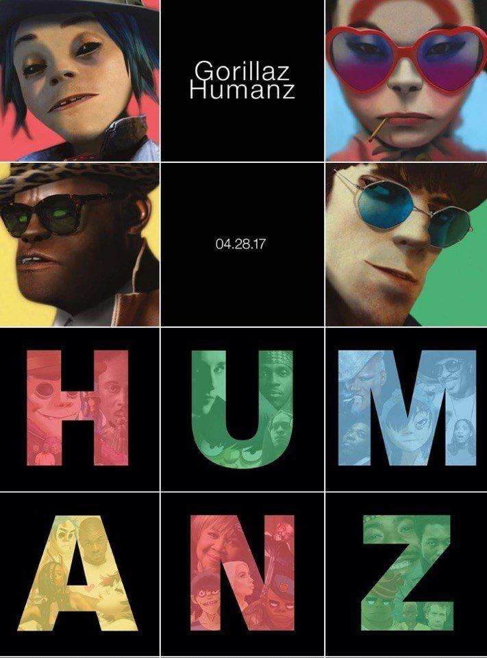 Новый альбом Gorillaz официально вышел. Слушаем!