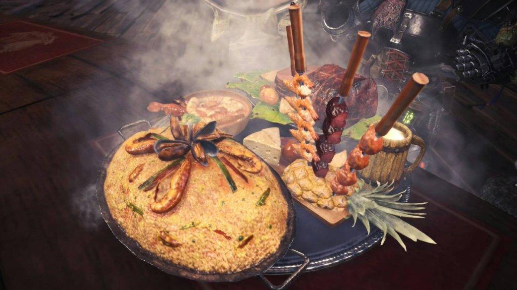 Ажслюнки потекли! Еда изMonster Hunter World, воссозданная вжизни, выглядит слишком аппетитно. - Изображение 1
