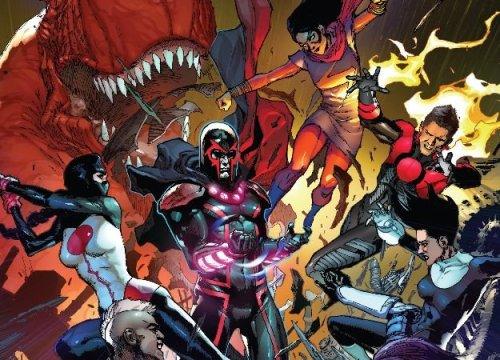 Война мутантов и нелюдей продолжается