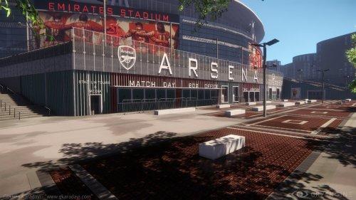 Стадион лондонского «Арсенала» воссоздали с помощью CryEngine