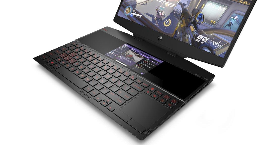HP представила первый игровой ноутбук с двумя дисплеями | Канобу - Изображение 662